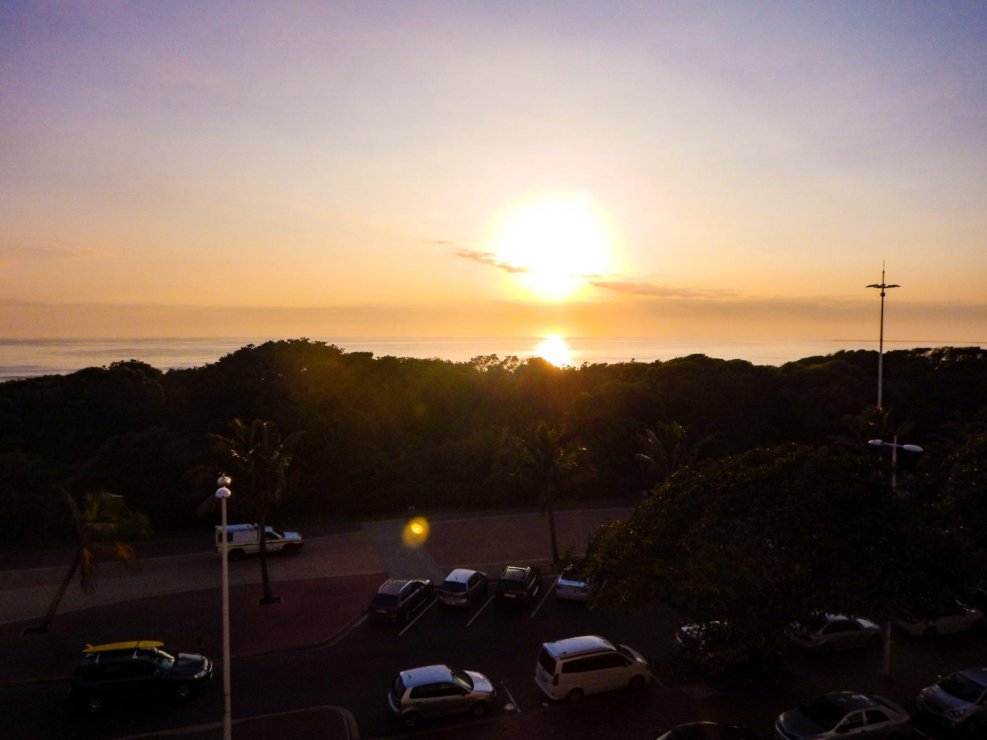 sunrise in durban