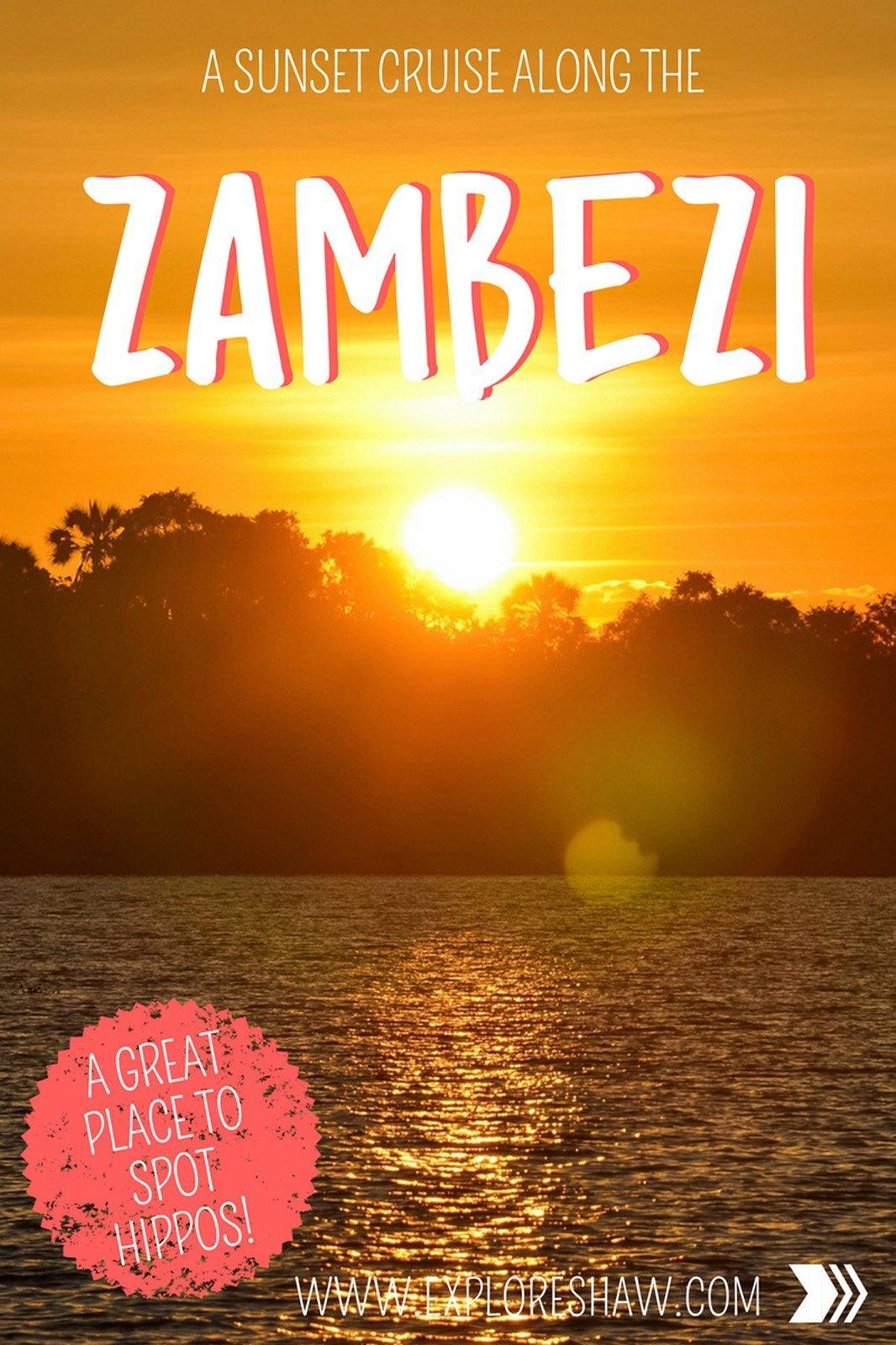cruise on the zambezi