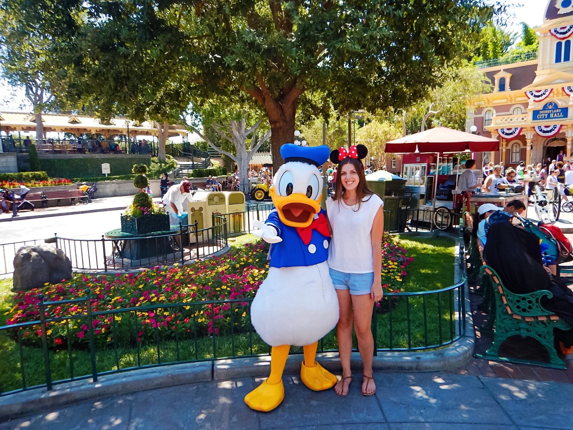 donald duck at disneyland
