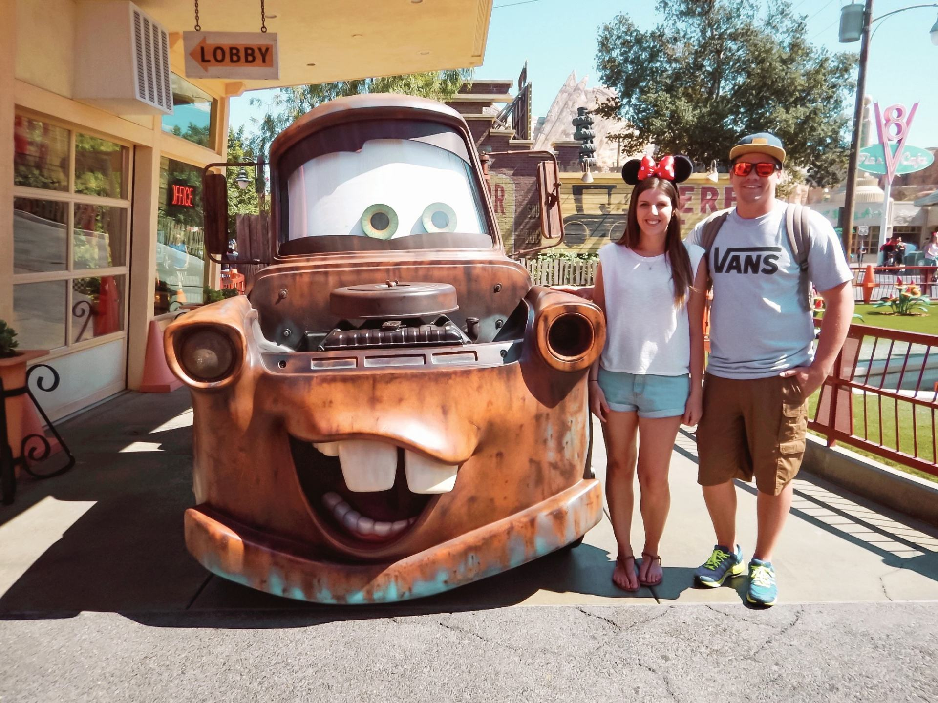 cars world at disneyland