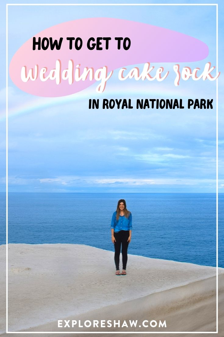 how to get to wedding cake rock in royal national park