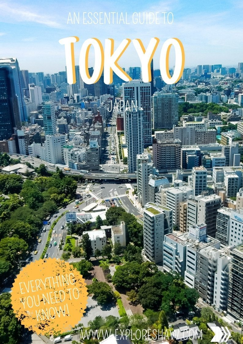 AN ESSENTIAL GUIDE TO TOKYO