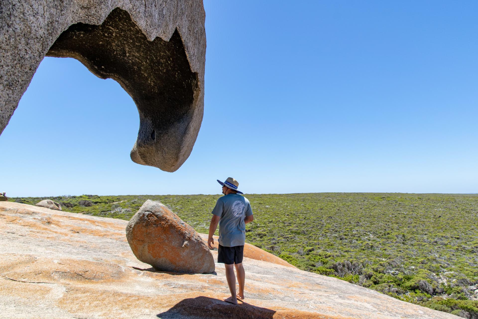 remarkable rocks at flinders chase national park