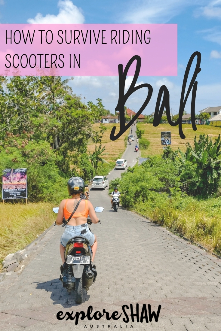HOW TO SURVIVE RIDING SCOOTERS IN BALI