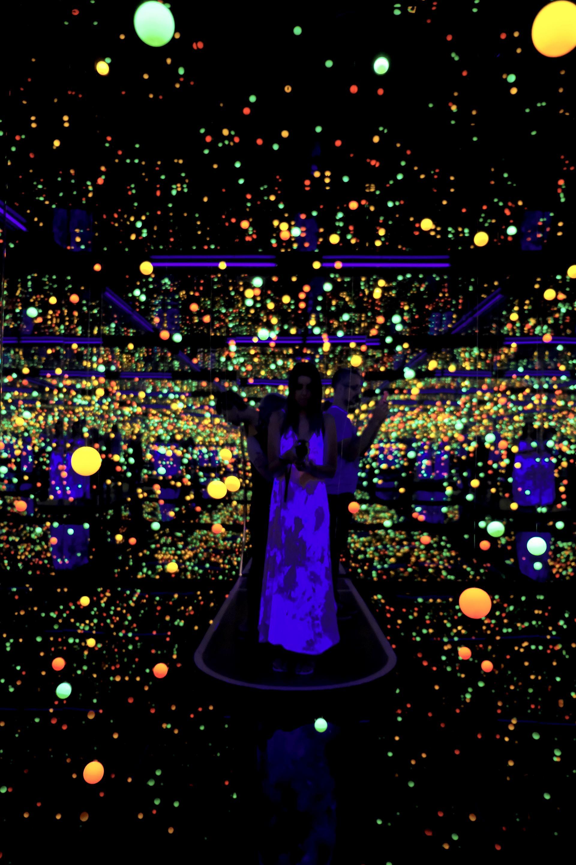 yayoi kasuma infinity room at goma