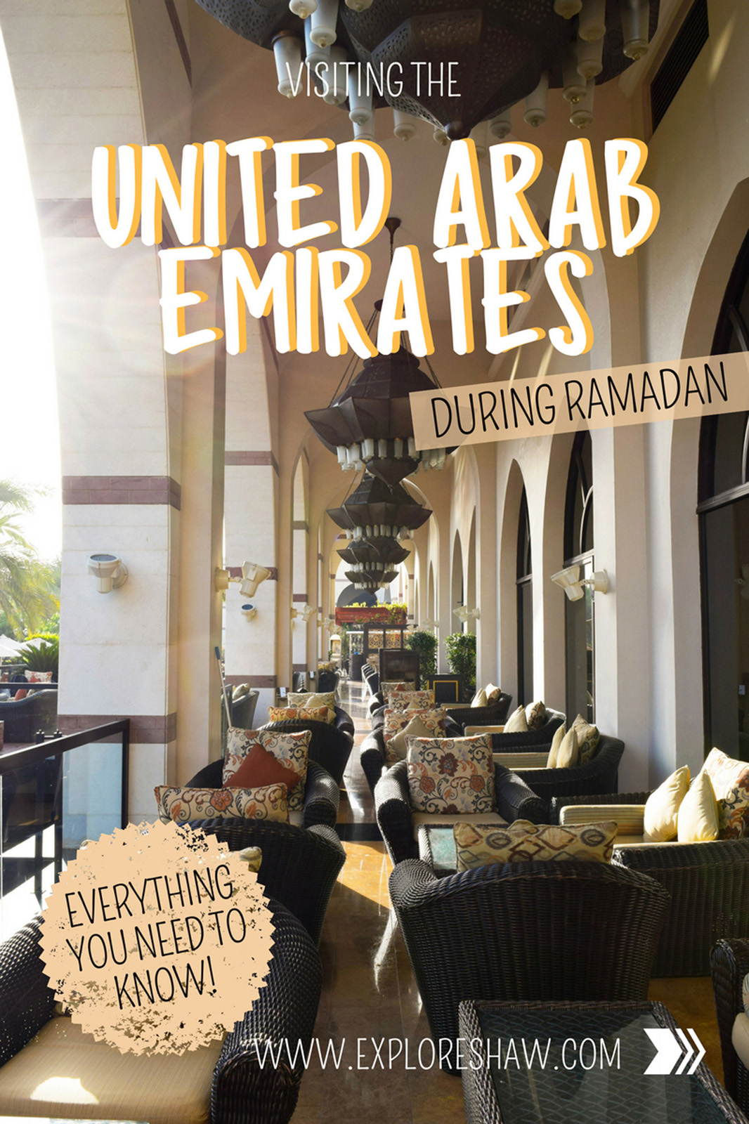 Everything you need to know to visit the United Arab Emirates during Ramadan, while always being culturally sensitive to their holy period. #Dubai #UnitedArabEmirates