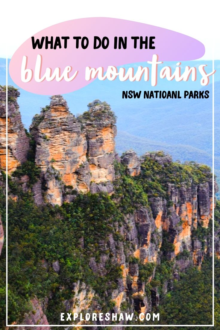 what to do in blue mountains