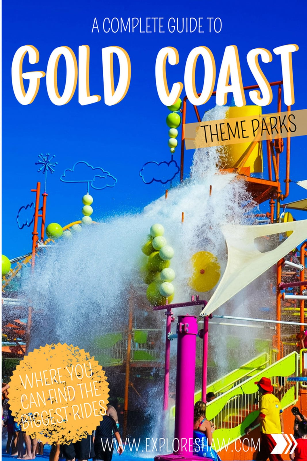 The Gold Coast is the ultimate destination for theme parks in Australia.With five theme parks located close to the heart of the Gold Coast, it's the perfect place to really get your adrenaline pumping on some monster thrill rides.