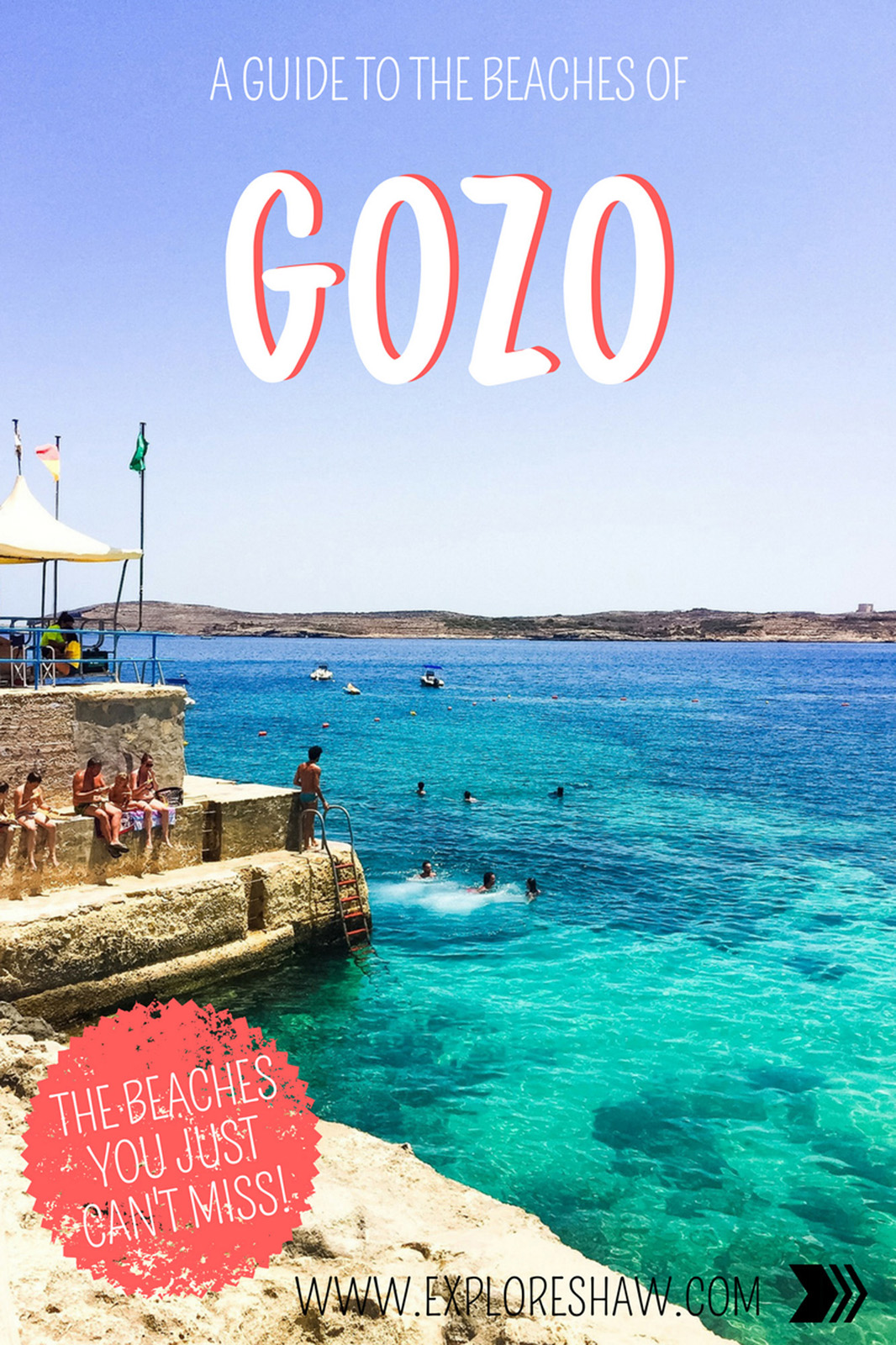 There are so many beautiful beaces on Gozo, and we can help you find them all. Here's our guide on the best beaches around this little island. #Malta #Gozo