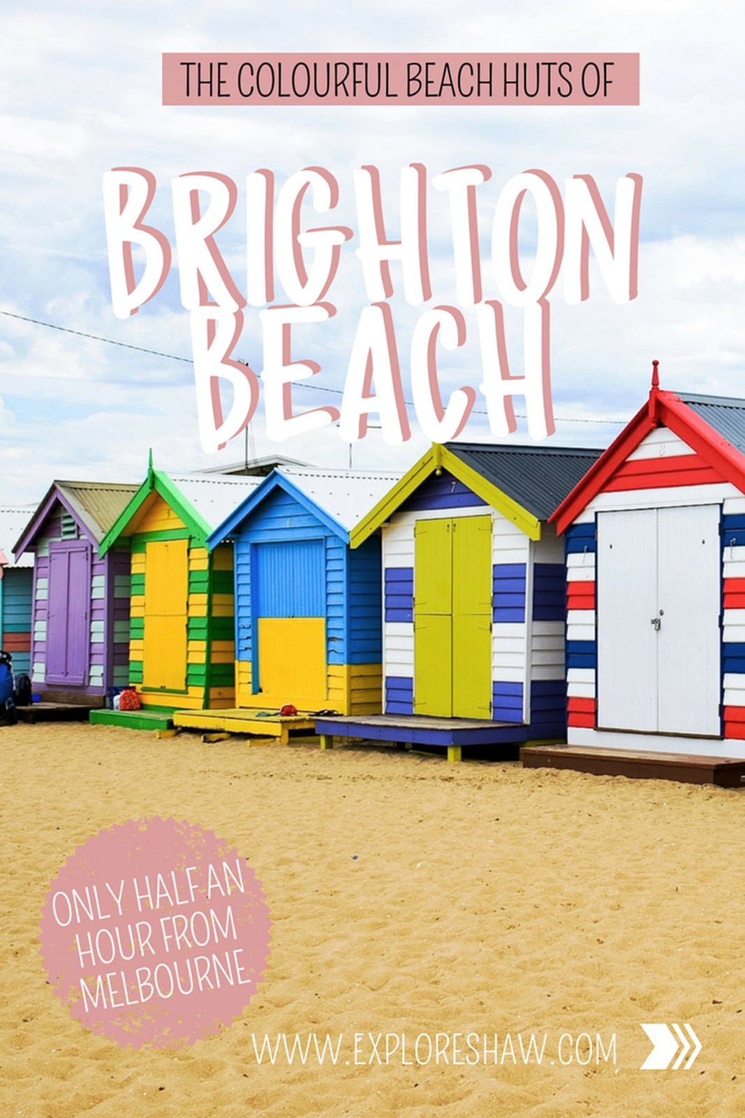 Hanging out at the home of the colourful bathing boxes at Brighton Beach. #Australia #Melbourne #Victoria #BrightonBeach