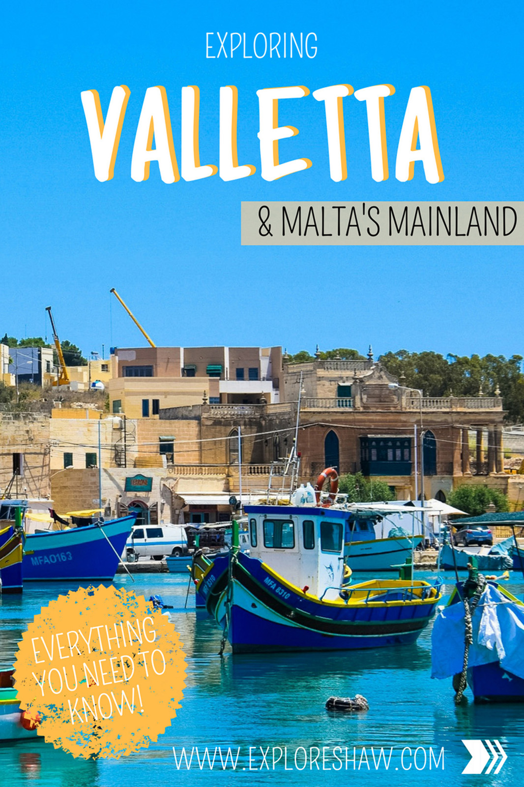 EXPLORING VALLETTA AND MALTA'S MAINLAND
