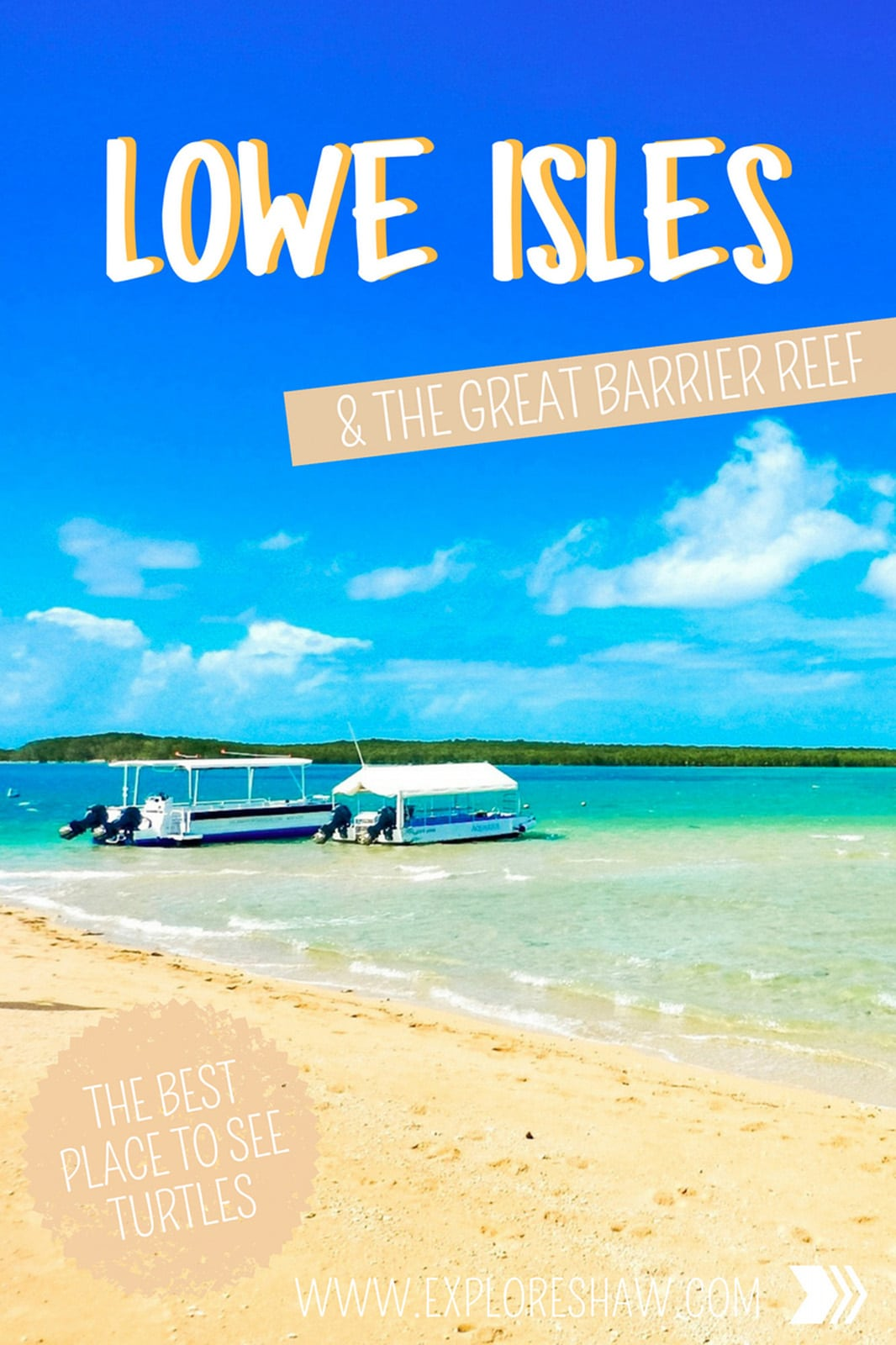 For a snorkelling day you won't forget, head out to Lowe Isles on a tour from Port Douglas, where you can experience this iconic reef from a private island!  #PortDouglas #Queensland #Australia #TropicalNorthQueensland