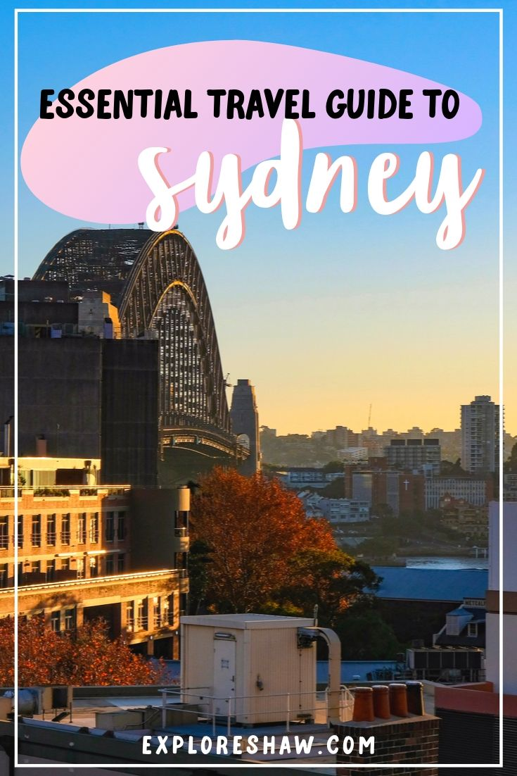 travel guide to sydney 1