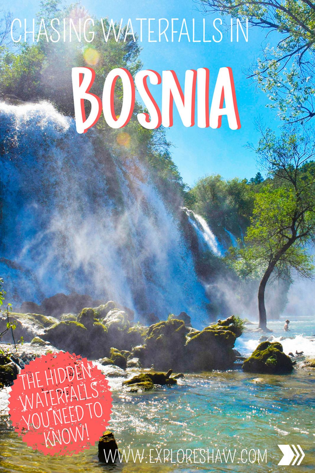 CASHING WATERFALLS IN BOSNIA