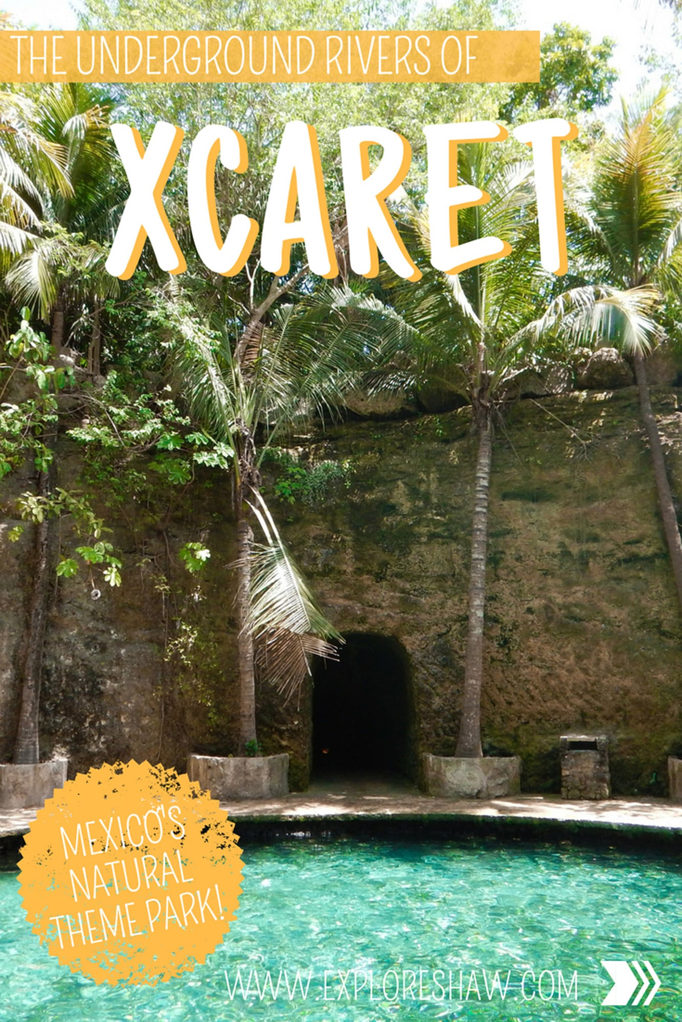The Underground Rivers Of Xcaret Mexico CentralAmerica YucatanPeninsula PlayadelCarmen