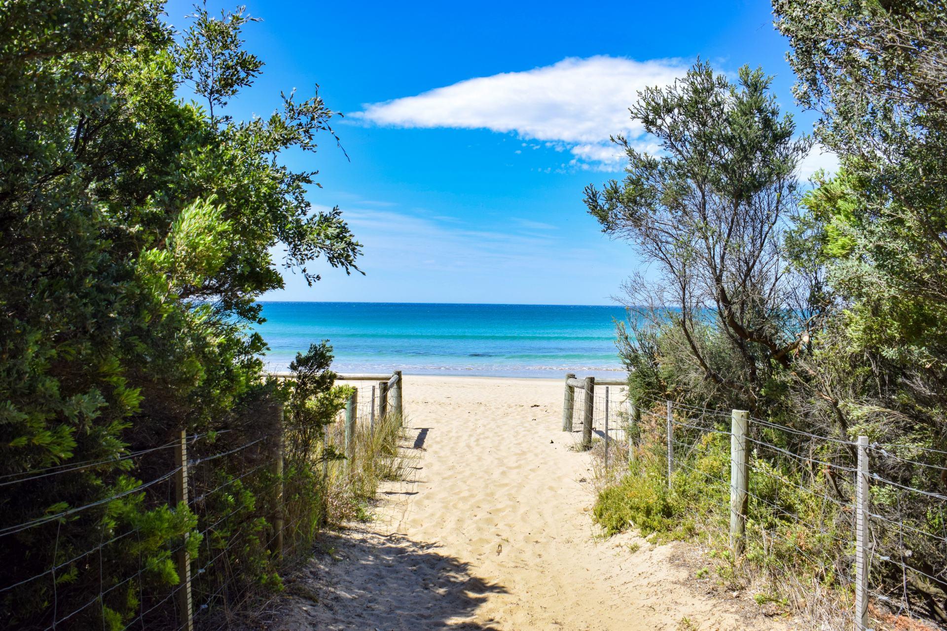 lorne beach