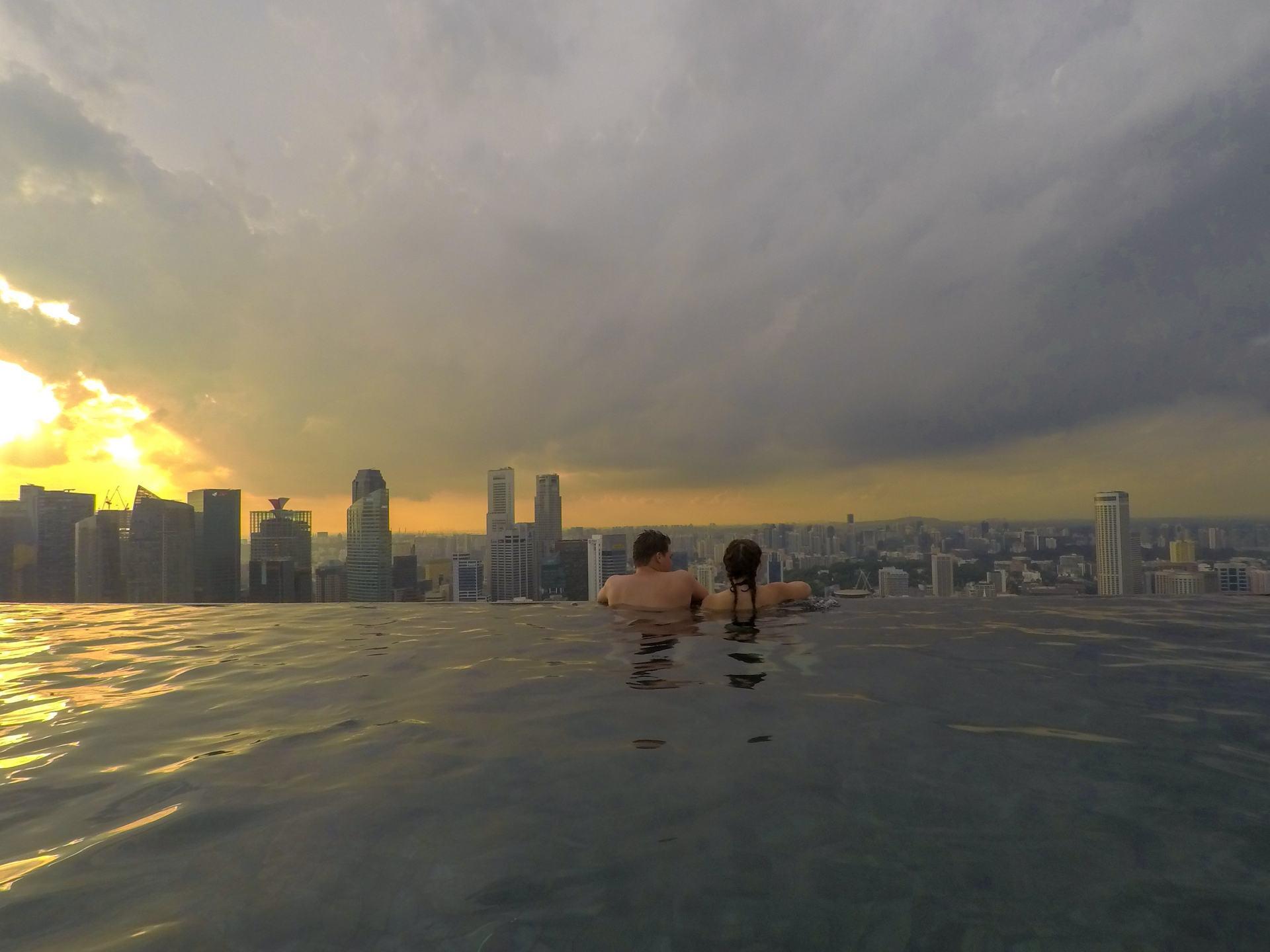 marina bay sands pool singapore