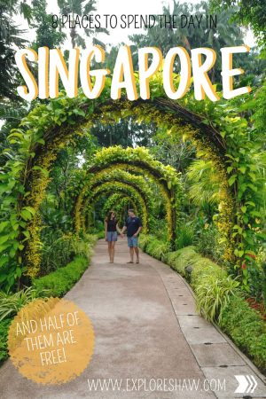 8 PLACES TO SPEND THE DAY IN SINGAPORE