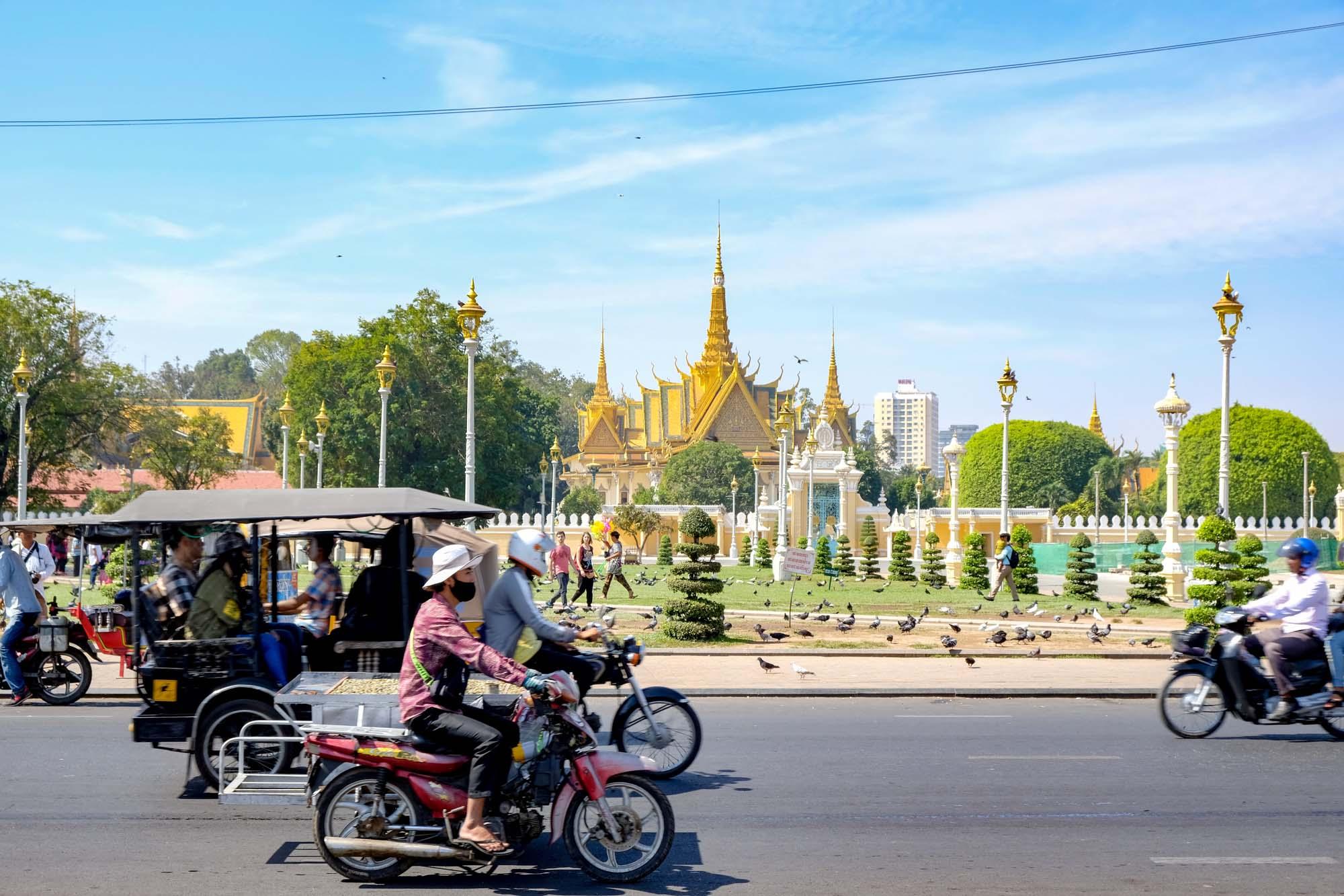 streets of phnom penh