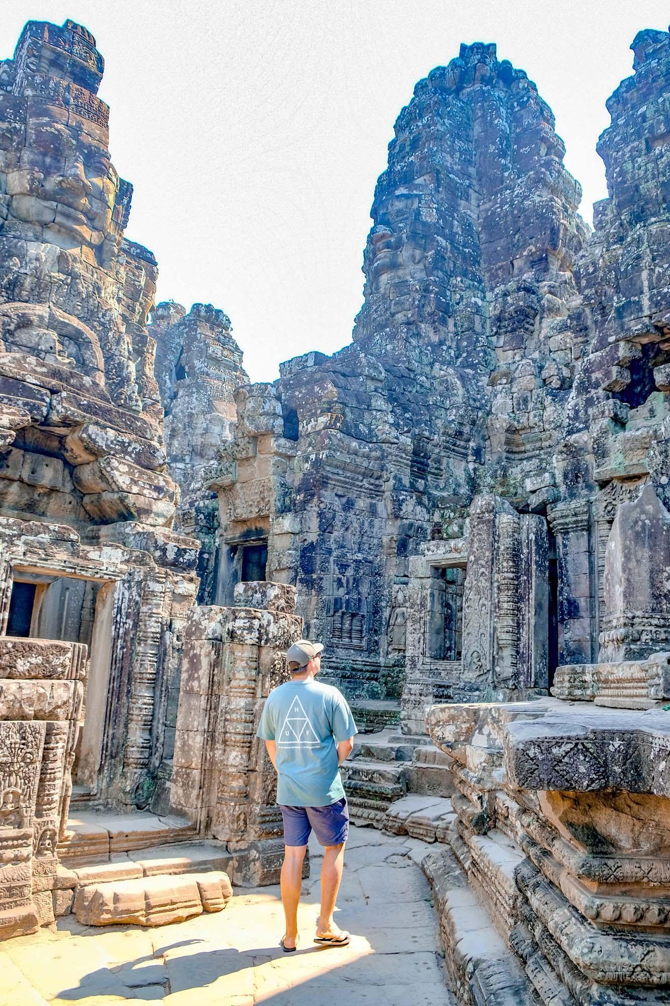 exploring angkor thom