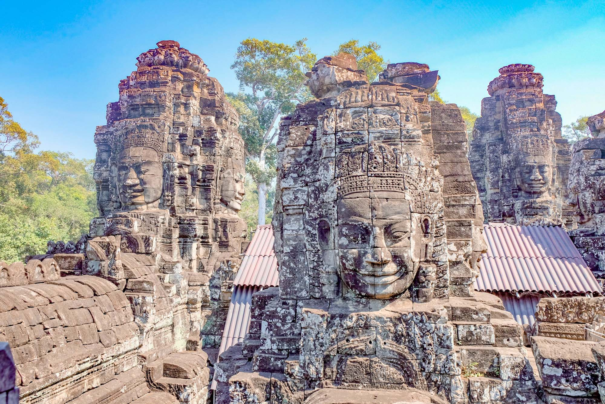 faces at angkor