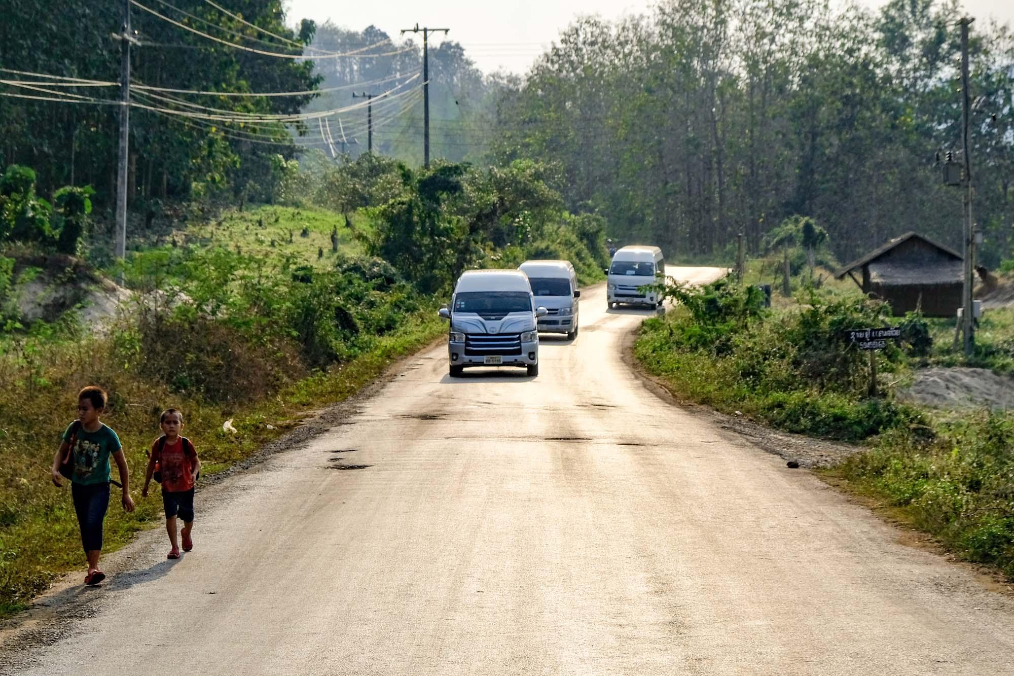 luang prabang back roads
