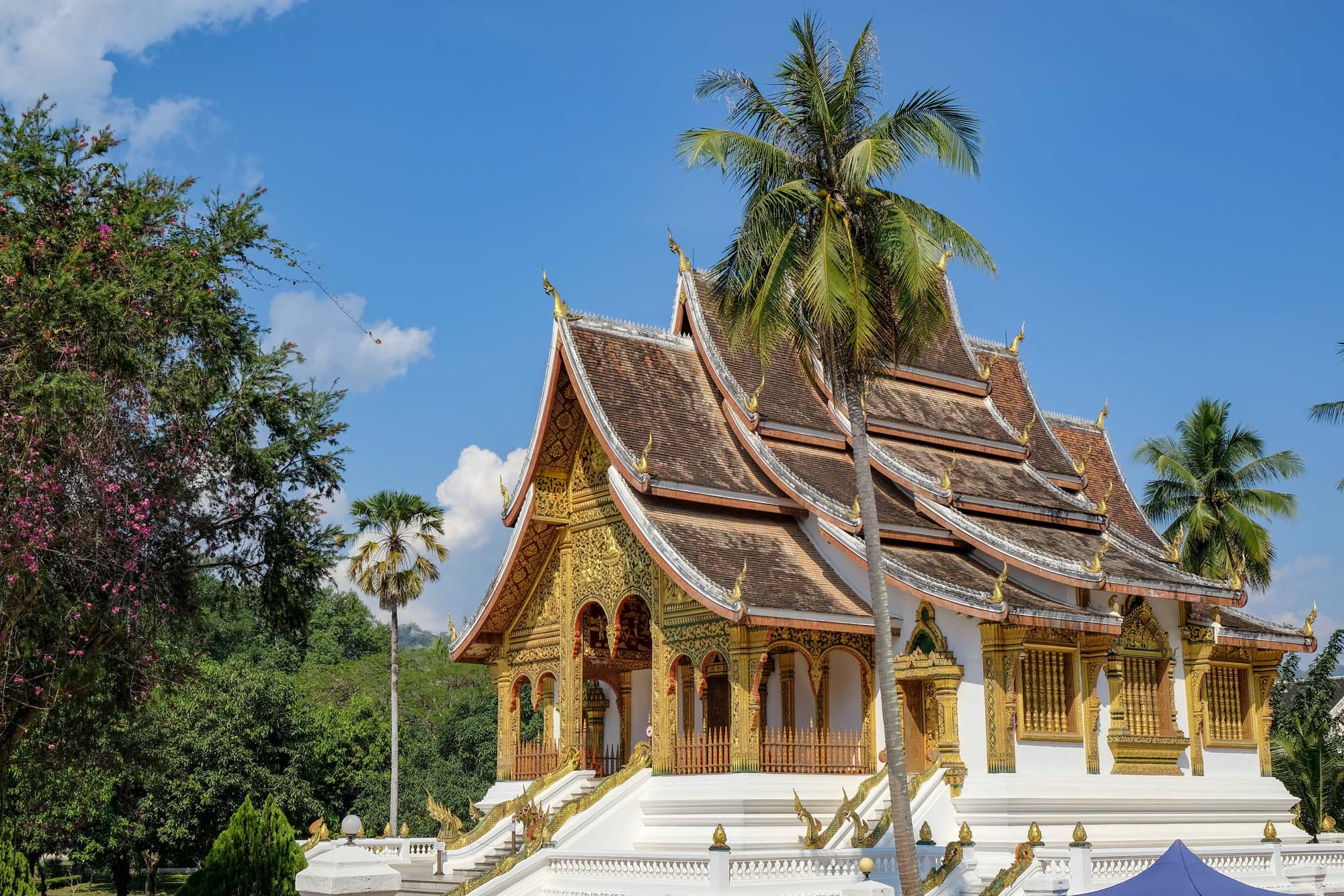 temple in luang prabang