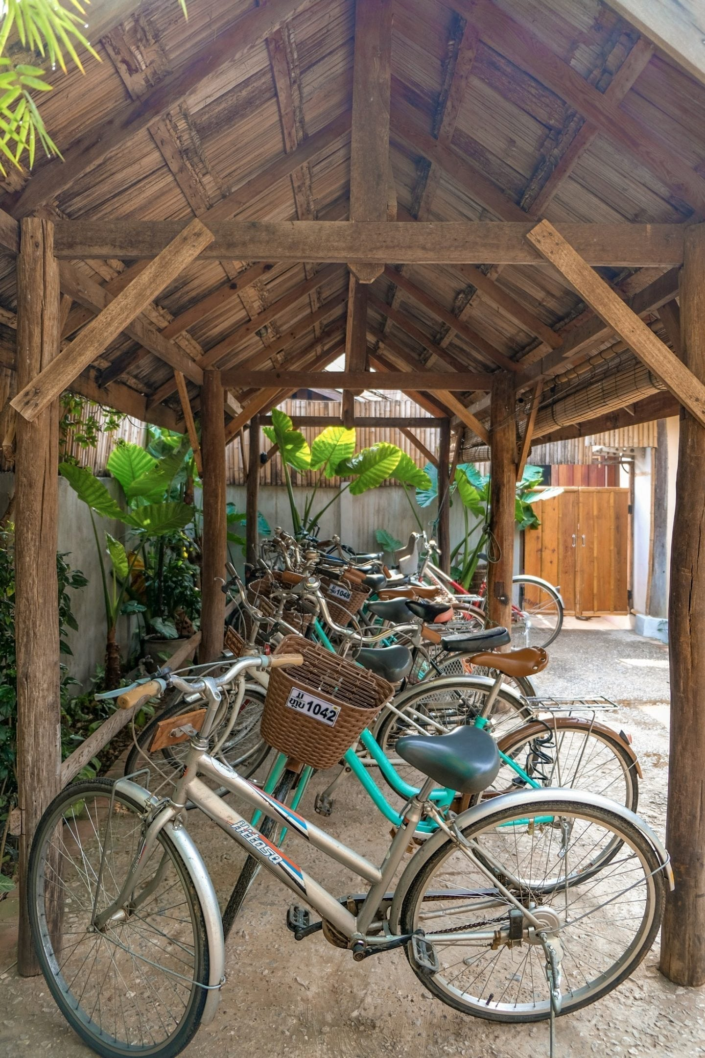 my dream boutique resort bikes