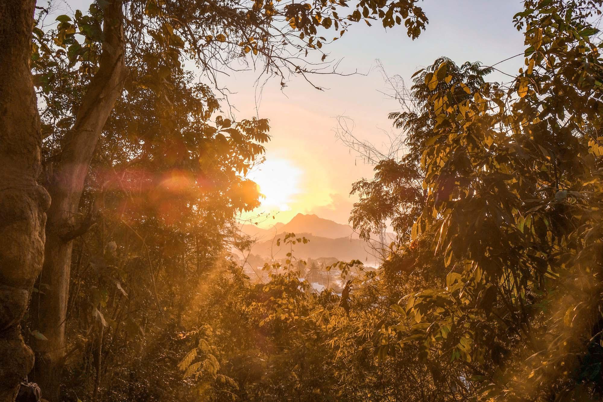 mountains of luang prabang