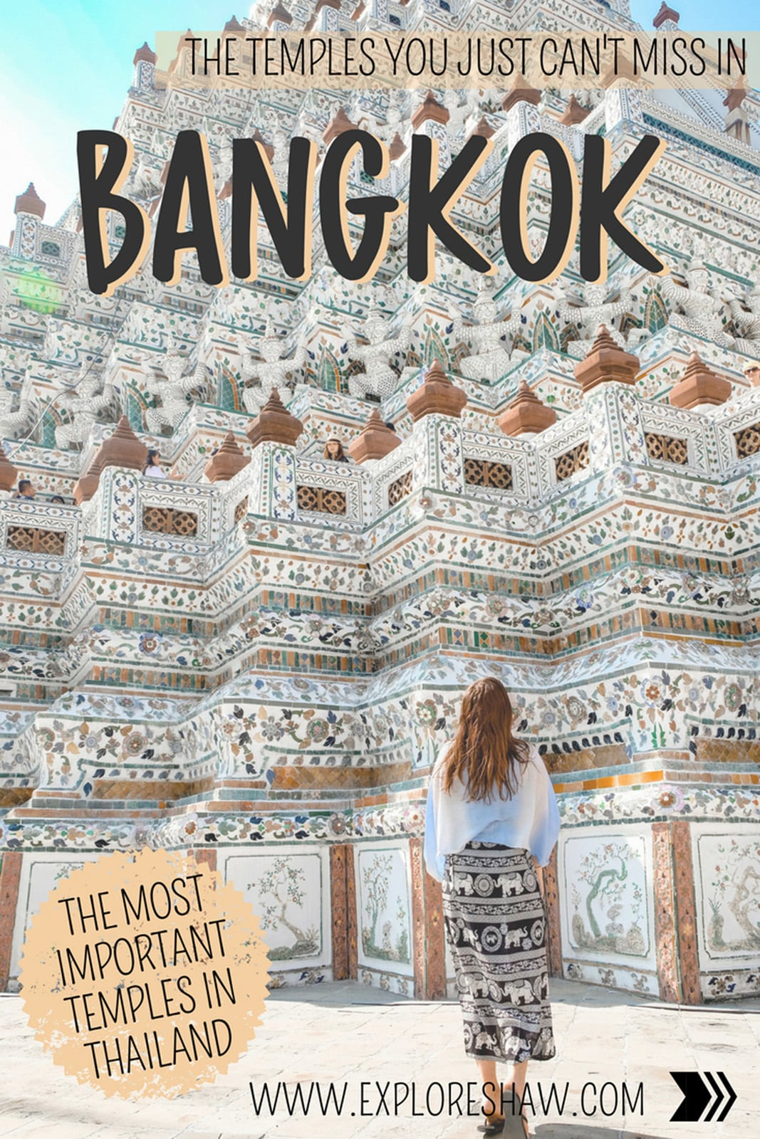 THE TEMPLES YOU JUST CAN'T MISS IN BANGKOK