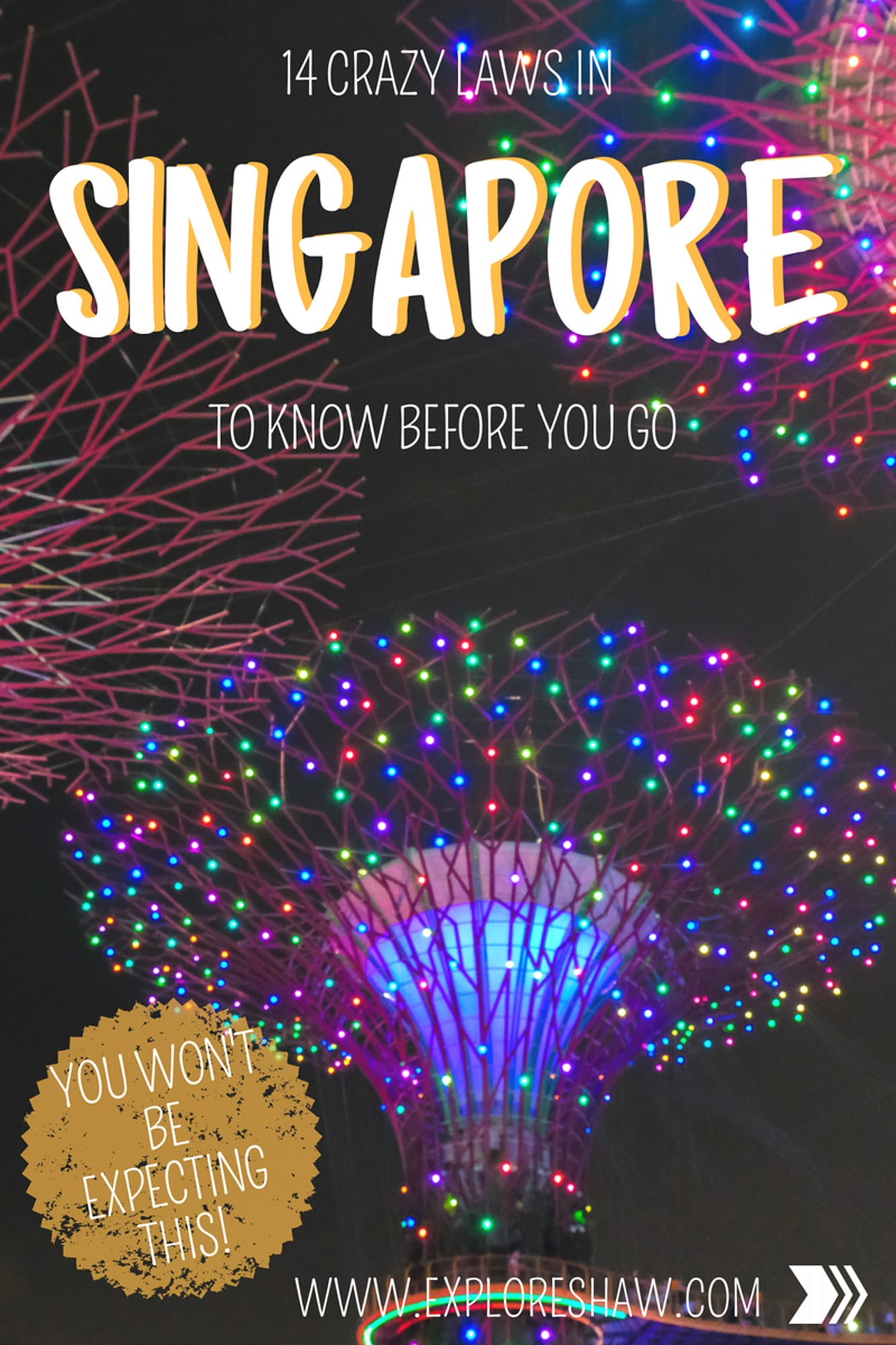 14 crazy laws to know before you go to singapore