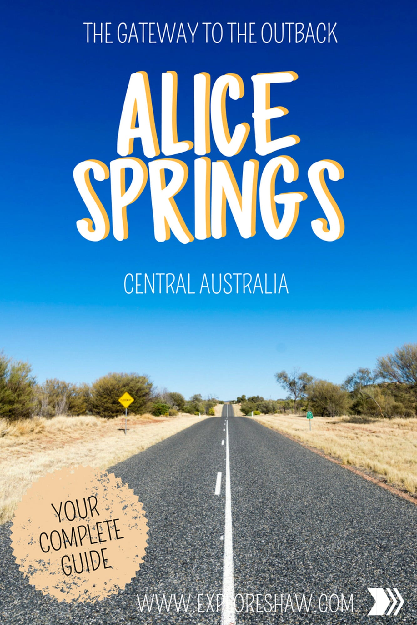 the gateway to the outback - alice springs