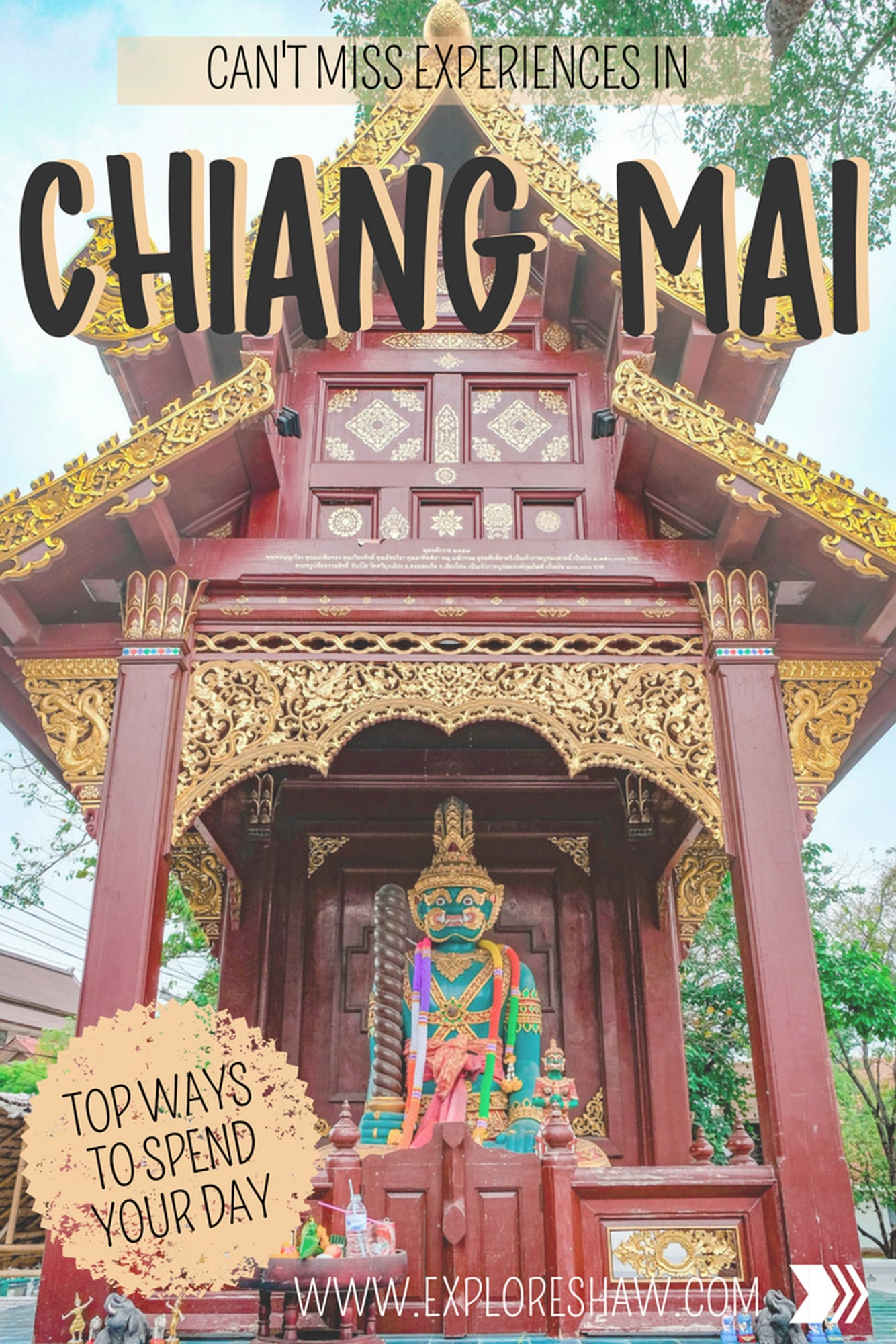 CAN'T MISS EXPERIENCES IN CHIANG MAI
