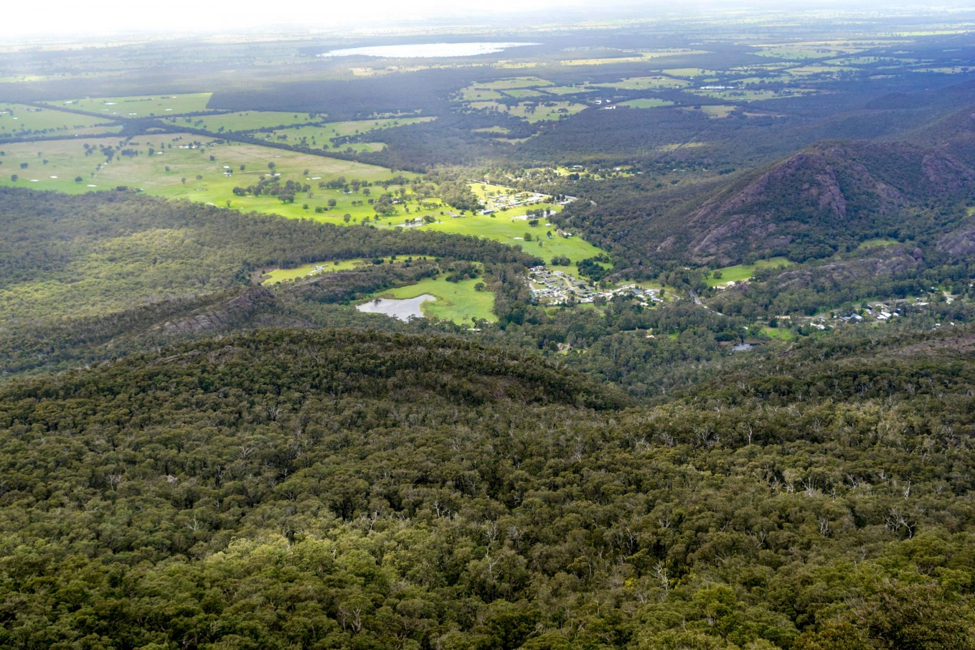 views over the grampians