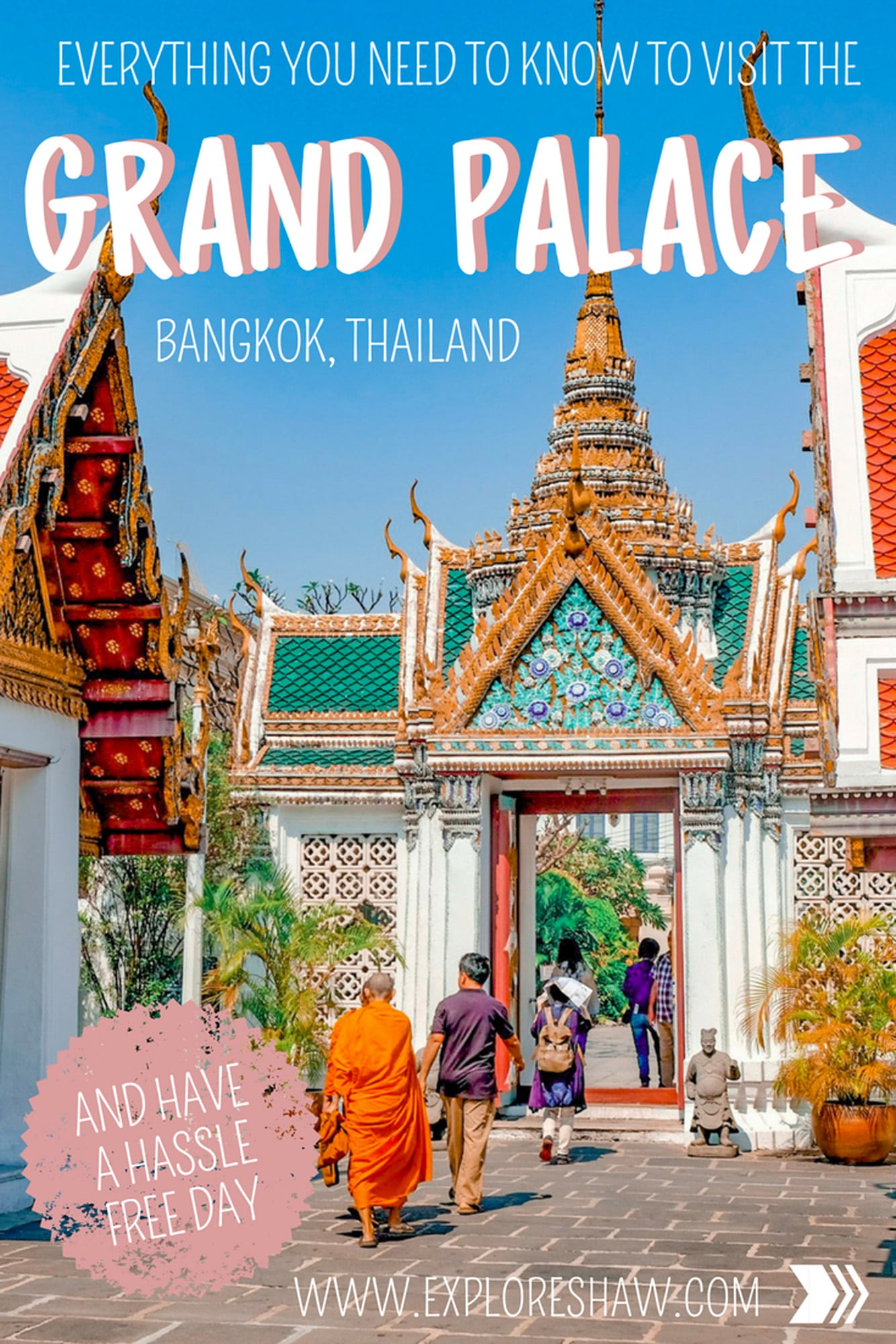 Everything You Need To Know For Your First Visit To Bangkok's Grand Palace #Bangkok #Thailand #SoutheastAsia
