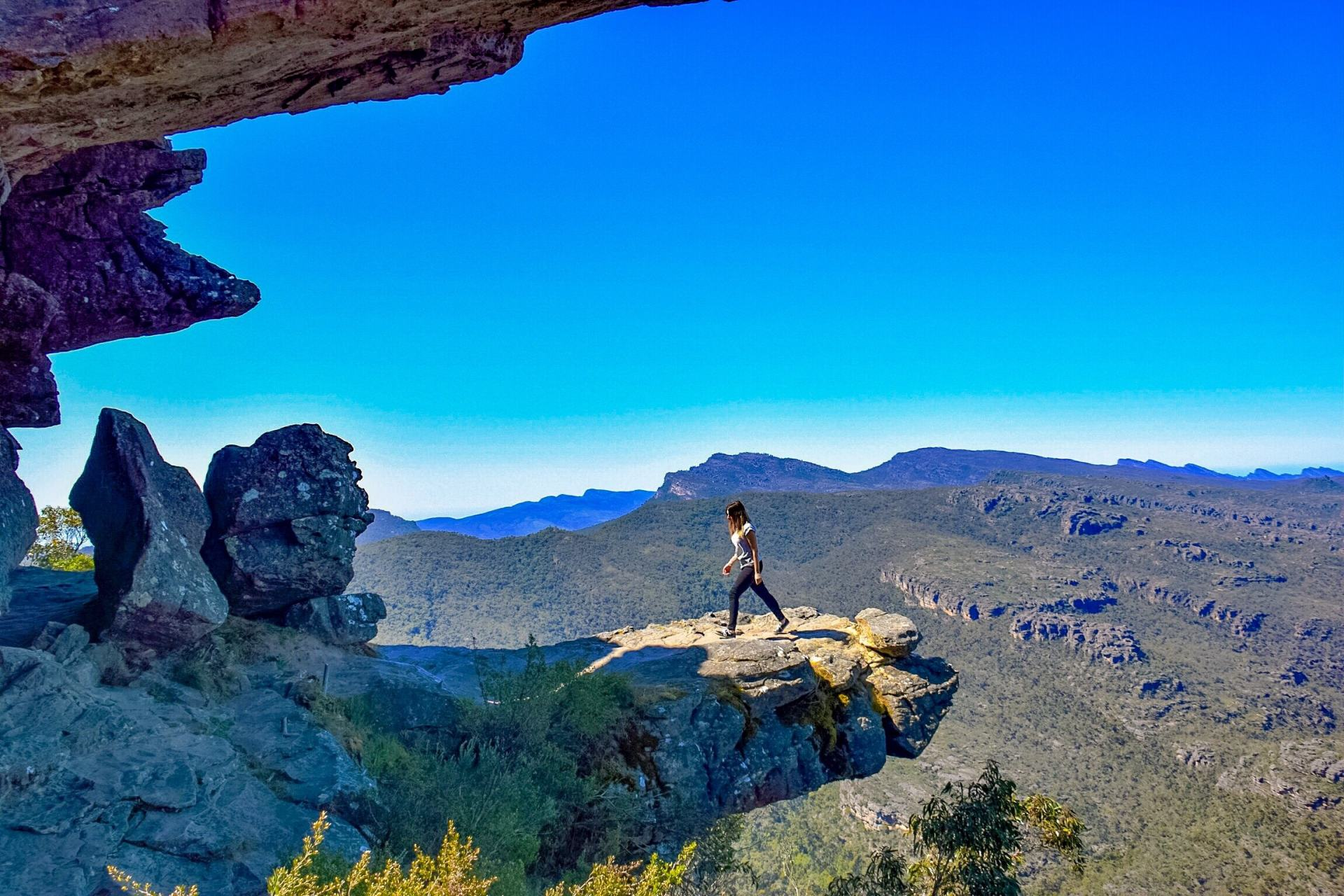 the balconies in the grampians