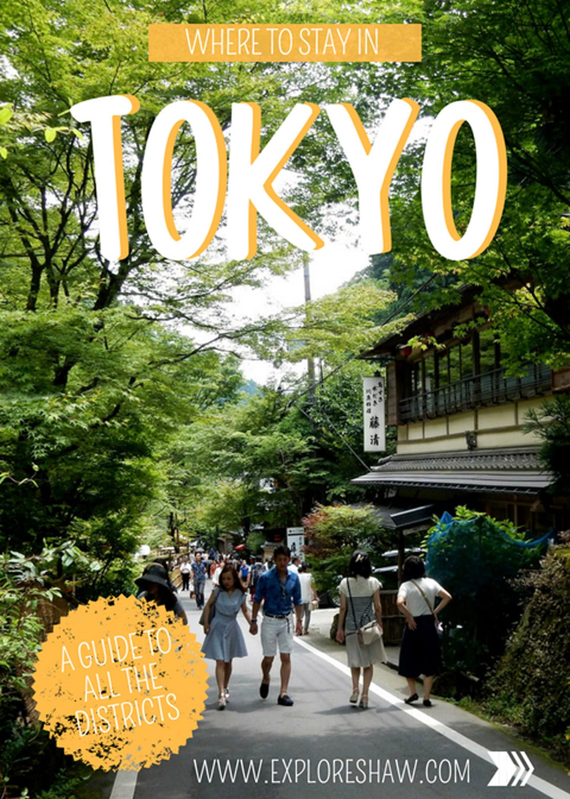Without a doubt, almost every traveller visiting Japan will visit Tokyo. It is the country's capital city and a great first place to start for your trip to Japan. However, within Tokyo itself it feels like there are tiny mini cities, each with their own themes, vibes and attractions. #Japan #Tokyo