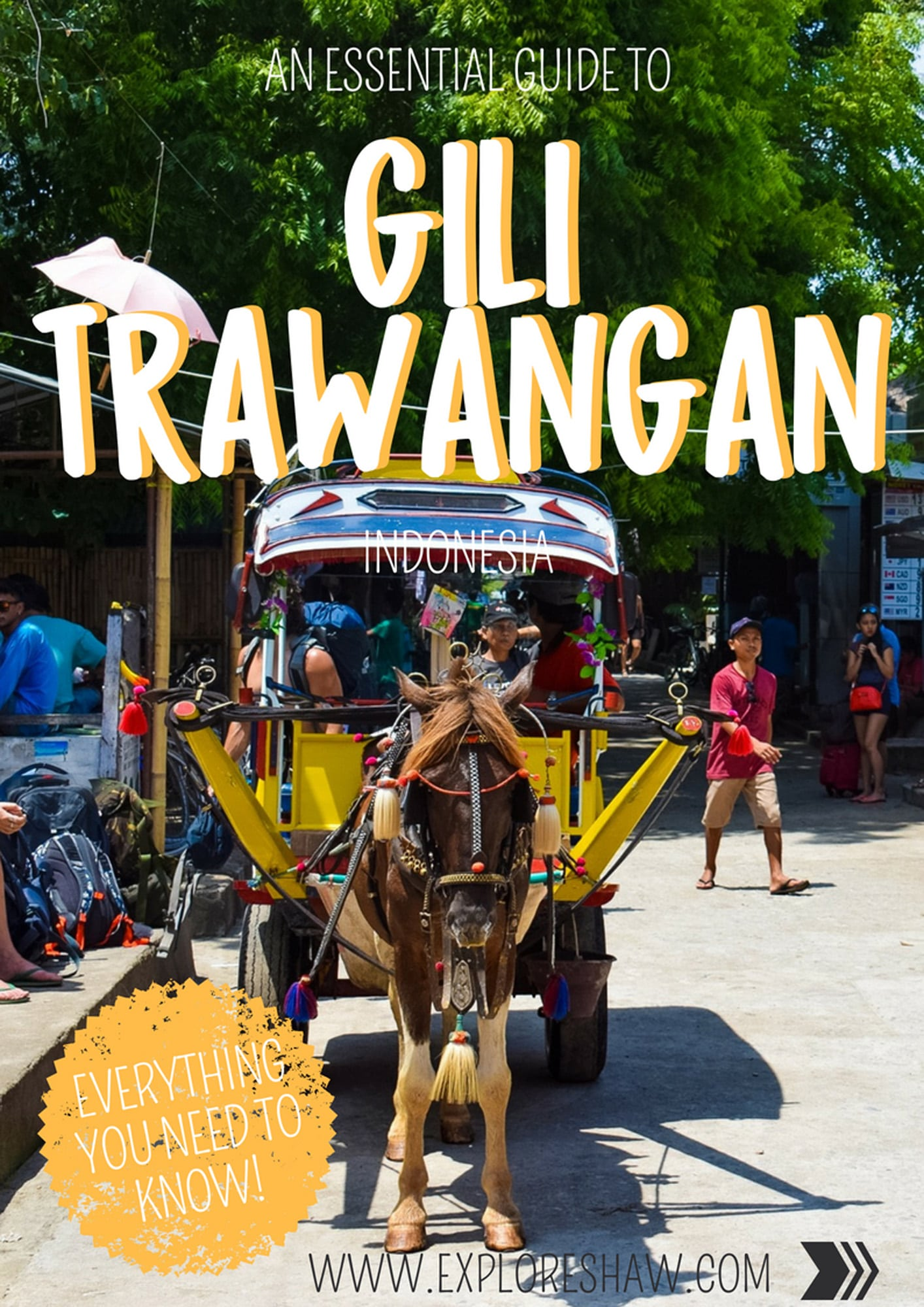 A Complete Guide To Gili Trawangan - Everything you need to know for your first visit to this little Lombok island. #Indonesia #Lombok #GiliTrawangan