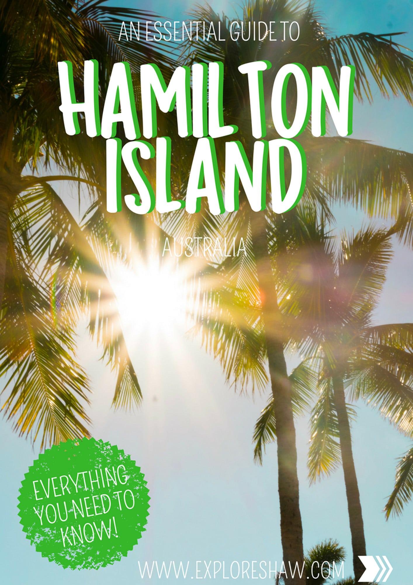 HAMILTON ISLAND GUIDE