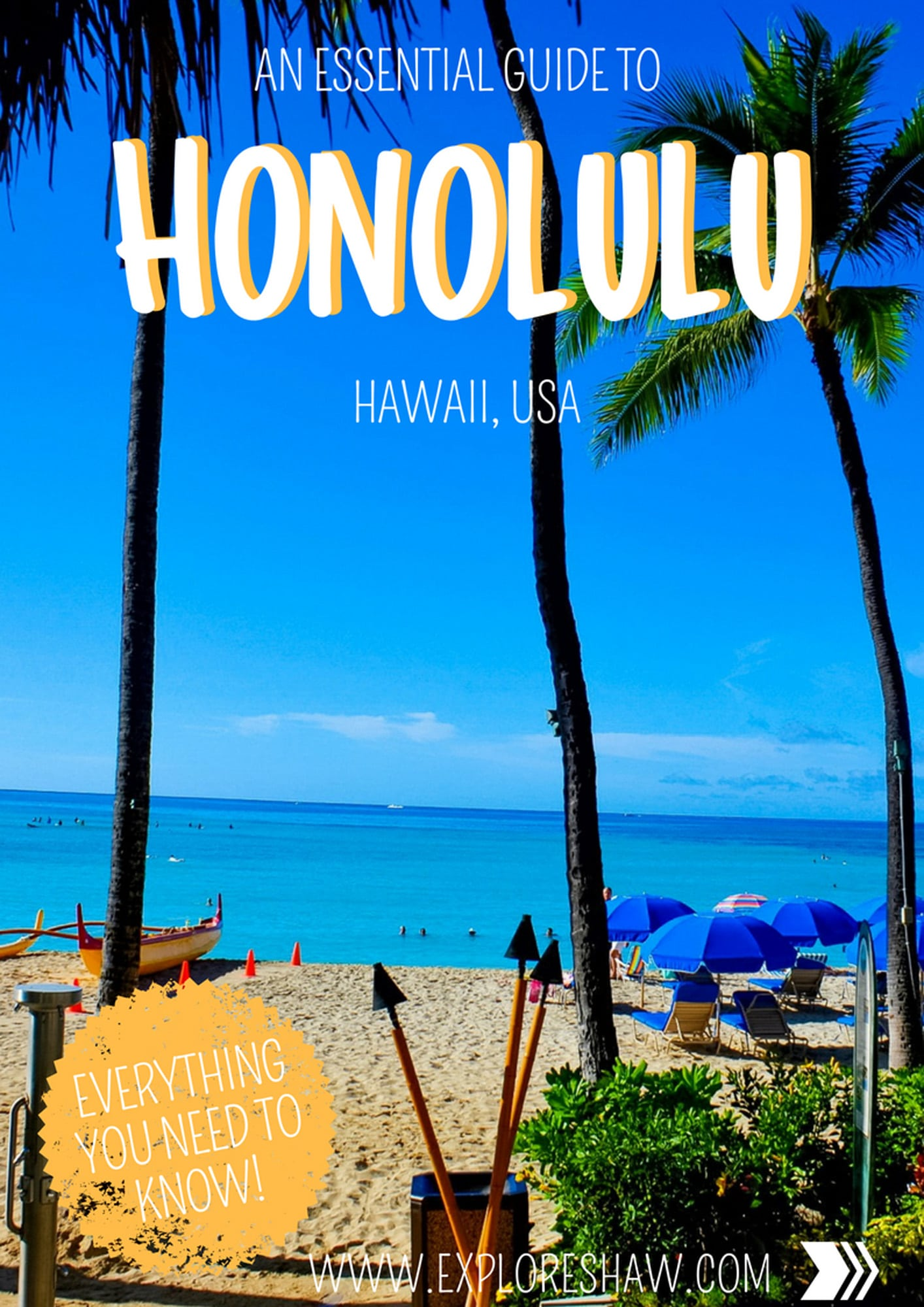 AN ESSENTIAL GUIDE TO HONOLULU