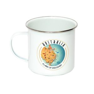 The Australia Collection Enamel Mug