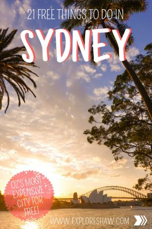 21 FREE THINGS TO DO IN SYDNEY