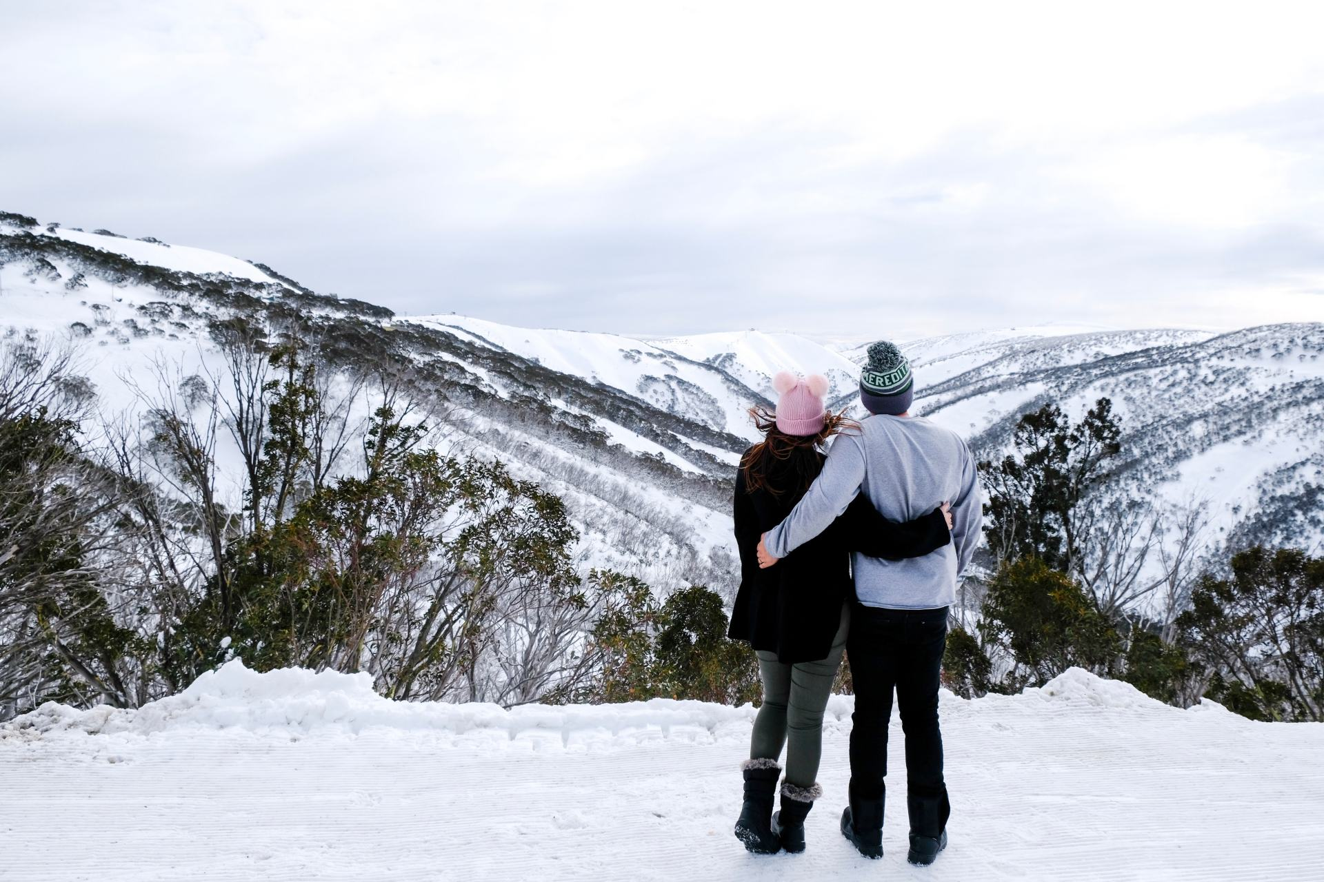 views of mount hotham mountains