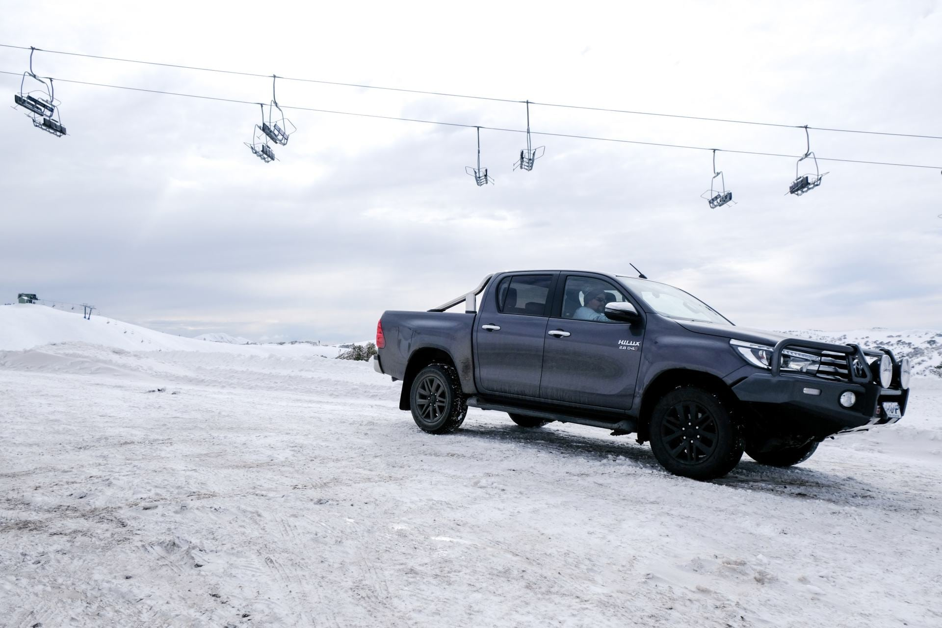 toyota hilux at mount hotham