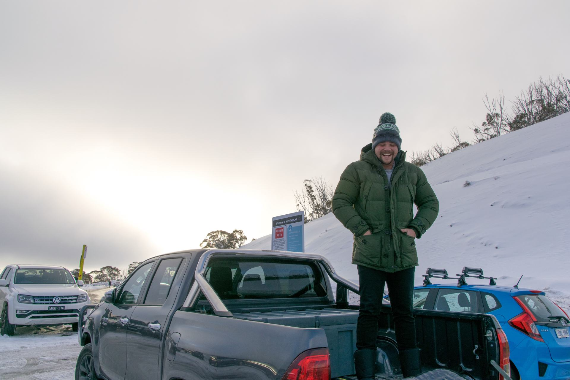 long term parking at mount hotham