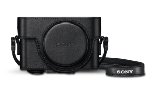 Leather Carrying Case for RX100 Series