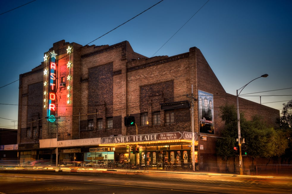 astor theatre on chapel street