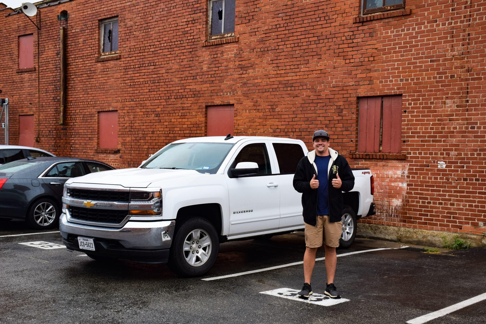 rental car in texas