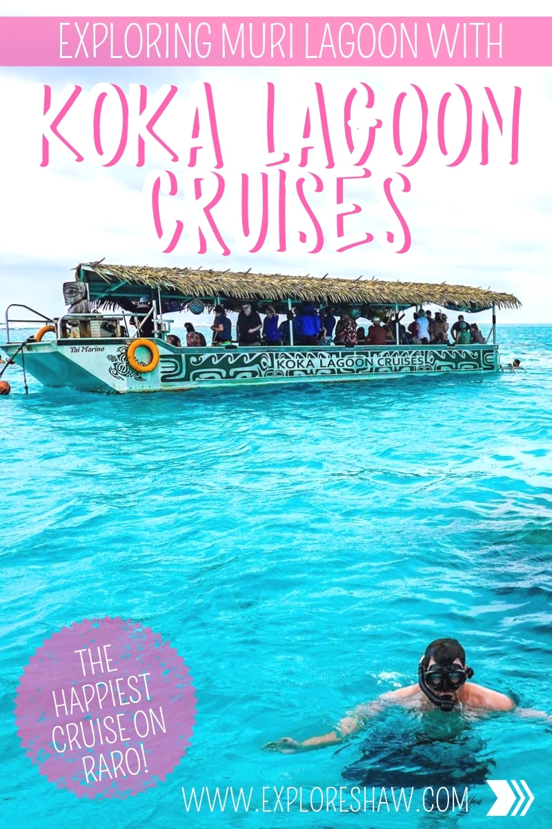EXPLORING MURI LAGOON WITH KOKA LAGOON CRUISES