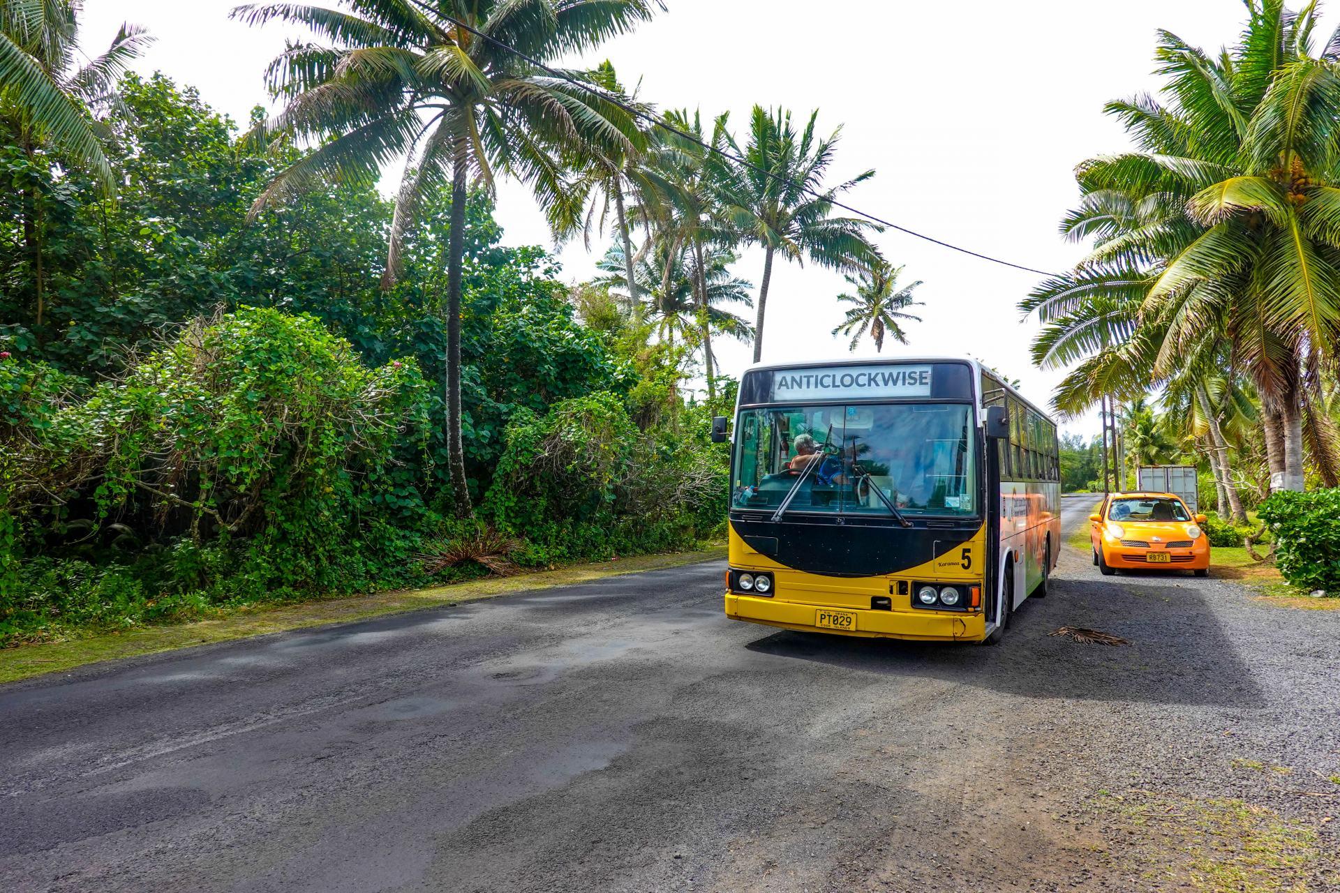 rarotonga public bus